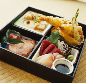 You can use a proper bento box and traditional recipes...
