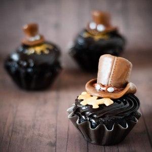 Steampunk-Cupcakes