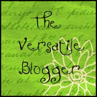 versatile blogger award