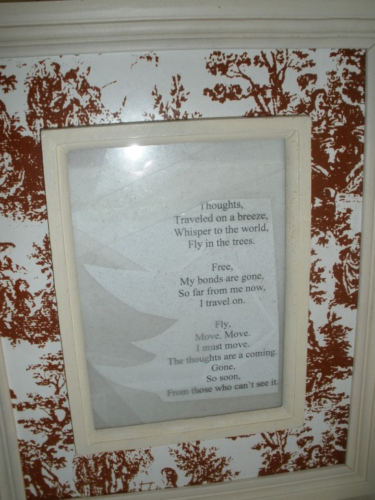 Framed Poem