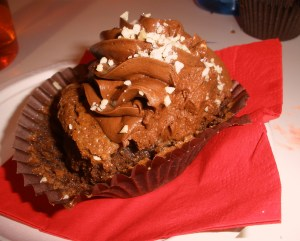 Lavender moon cupcakery flourless chocolate cupcake